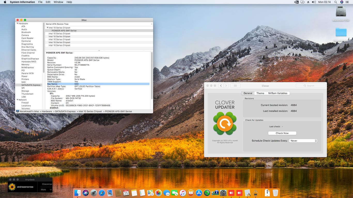 Andresha - Antara Aku, Kau dan Komputer - Success Hackintosh macOS